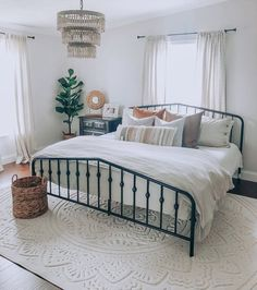 Home decor - Novogratz Bushwick Bed Dream Bedroom, Home Decor Bedroom, Living Room Decor, Master Bedroom, Bedroom Ideas, Modern Bedroom, Bedroom Neutral, Bedroom Furniture, Wedding Bedroom