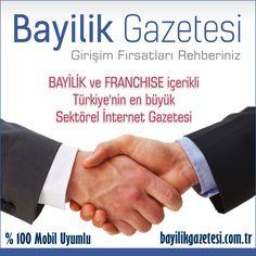 Türkiye'nin en büyük sektörel gazetesi 10.yılında yenileniyor..  BayilikGazetesi.com.tr çok yakında yeni konsepti ile sizlerle olacak..  http://www.BayilikGazetesi.com/yeni