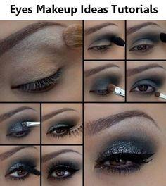 Eyes makeup ideas Tutorials.Here beast ideas make up tutorial smokey eyes,green eyes makeup tutorial,korean eyes makeup tutorial,smokey makeup tutorial,makeup tutorial for blue eyes,small eyes makeup tutorial,cat eyes makeup tutorial