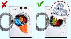 Ani kvapka octu, nekupujem drahú chémiu a bielizeň je ukážková: 21 trikov, ktoré bude velebiť každý, kto denne perie! Washing Machine, Perie, Laundry, Home Appliances, Tips, Routine, Healthy, Check, Recipes