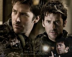 Joe Flanigan as John Sheppard