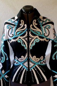 AQHA Showmanship Outfits | Showmanship Rail jackets Paradise Creations