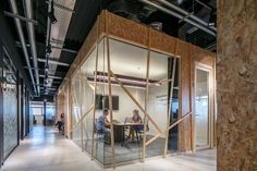 Israel Office Interior Design Inspired By The Human Anatomy