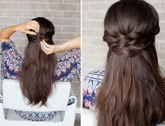 Braided Half-Up