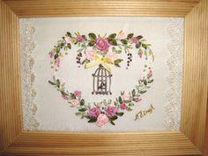 Gallery.ru / Фото #58 - Мои малышки - seidenliebe Ribbon Embroidery, Embroidery Designs