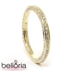 diamond encrusted wedding band