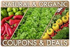 Natural & Organic Coupons & Deals - Money Saving Mom®