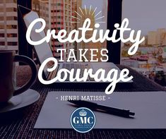 Wishing you a week full of success! Remember be courageous and let your creativity shine!