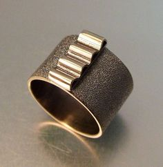 RIPPLE RING by melodyarmstrong on Etsy, $300.00