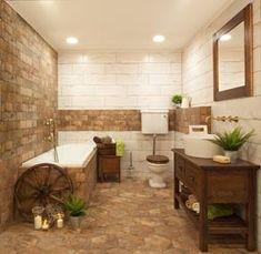 Dlažba Fineza Brick America old cm mat Unique Home Decor, Modern Decor, Jacuzzi Bathtub, Bathtubs, Glass Kitchen Cabinets, Christmas Bathroom Decor, Bathtub Remodel, Home Board, Simple Bathroom