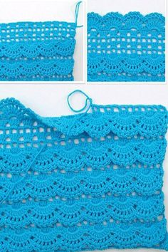 Oh my what a beautiful afghan stitch maybe doing the front post crochet in a lot of shell patterns is a way to go – Artofit Beau Crochet, Crochet Diy, Crochet Skirts, Love Crochet, Crochet Clothes, Crochet Ideas, Crochet Tutorials, Crochet Flowers, Crochet Diagram