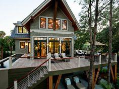 Exterior of the 2013 HGTV Dream Home on Kiawah Island, South Carolina.