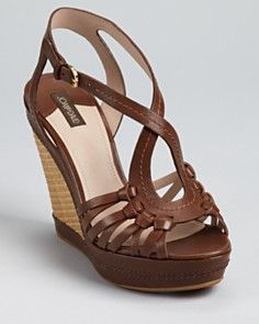 Isn't this Joan  David Wedge cute!!! Would look adorable with capri pants or even a cute pair of jeans or jean a skirt!