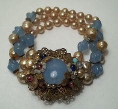 1930 Miriam Haskell bracelet