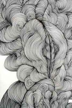 Still images - sky kim patterns in 2019 искусство, артбуки, рисунок. Abstract Pencil Drawings, Abstract Lines, Art Drawings, Pencil Art, Arte Linear, Illusion Art, Zentangle Patterns, Zentangles, Art Abstrait