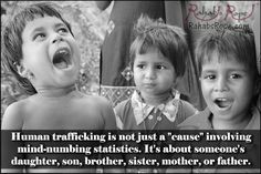 Human trafficking is not just a cause. #loveinaction
