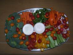 plateau de crudité Punch Bowls, Crudite Platter, Meal
