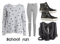 """School Pick Up"" by gonnadressyouup on Polyvore"