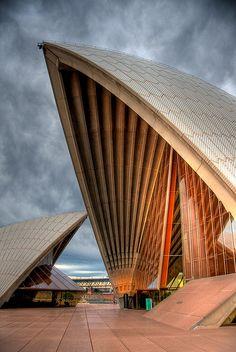 See. Sydney Opera House. Sydney, AU. Designed by Danish architect Jørn Utzon, 1973.