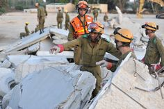 """""""I've been very close to incidents that have taken lives, but they don't begin to approach the power of saving a life. Rescuing a person is like bringing a child into the world. It's something that unites and motivates all of us. It's all part of defending the State of Israel.""""      -Company Commander Capt. Yanai Guetta during an IDF Search and Rescue Drill yesterday  https://www.facebook.com/photo.php?fbid=598978710125003=a.250335824989295.62131.125249070831305=1"""