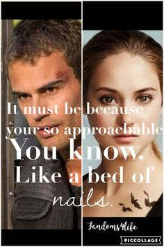 Divergent, Tris and Four.