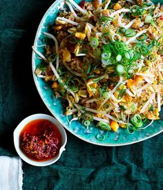 XO fried rice recipe - For XO sauce, soak prawns and scallops in separate bowls overnight in 60ml (¼ cup) Shaoxing each. Drain, reserving liquid, and blitz prawns and scallops