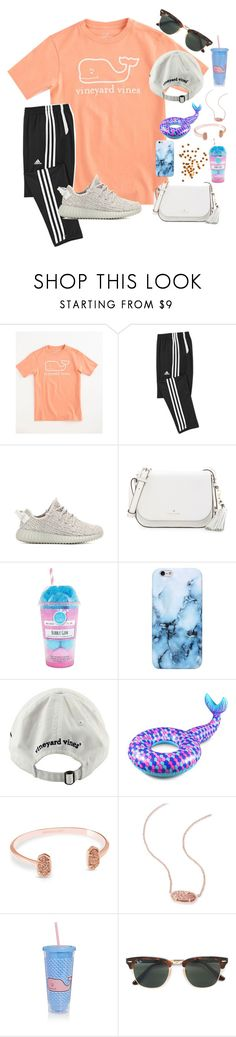 """~ortho::rtd~"" by taybug2147 ❤ liked on Polyvore featuring Vineyard Vines, adidas Originals, Kate Spade, Fizz & Bubble, Big Mouth, Kendra Scott, Sunnylife, Ray-Ban and country"