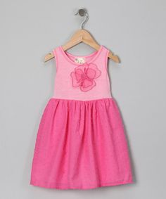 Take a look at this Blush Flower Babydoll Dress - Toddler by Pink Vanilla on #zulily today!