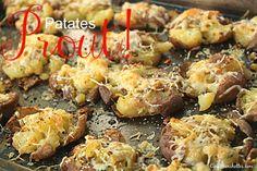 Connaissez-vous les patates Prout? Et patati... et patata... petite patate... tant pis pour toi!, ça vous rappelle quelque chose? En tout cas, ici, on a bien du fun à les préparer!