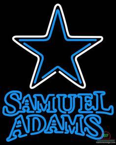 Samuel Adams Dallas Cowboys Neon Sign NFL Teams Neon Light