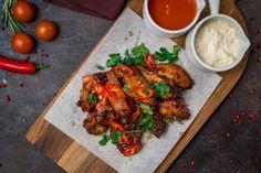 Tandoori Chicken, Chicken Wings, Meat, Ethnic Recipes, Food, Beef, Meal, Essen, Hoods