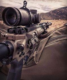 A little bit of long range pew!  AR15 w/Scope