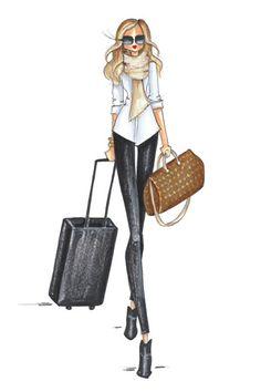 Brittany Fuson Papel | loja | Etiqueta de bagagem