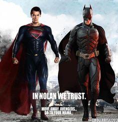 In Nolan We Trust - Fanmade Man of Steel / Dark Knight