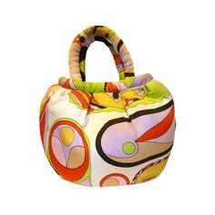 1960's Emilio Pucci Silk Handbag