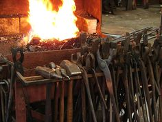 Forge tools. Wouldn't every prepper like to own these!