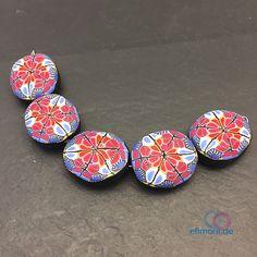 Ein persönlicher Favorit aus meinem Etsy-Shop https://www.etsy.com/de/listing/559072891/perlen-oval-polymer-clay-handmade