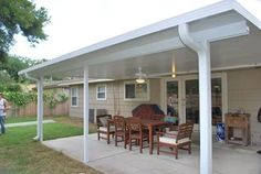 Metal Aluminum Patio Covers Offer Protection And Durability.