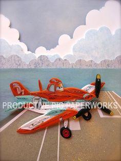 Meet Dusty - Disney's Planes Quilling