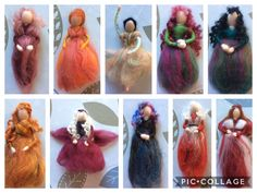 Year of Projects Update – My Year – Week Fairy Princesses, Its A Wonderful Life, Felting, Fairies, Christmas Ornaments, Holiday Decor, Projects, Faeries, Log Projects