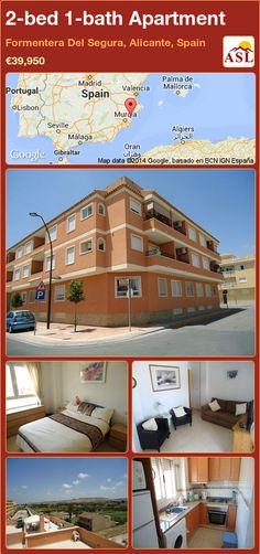 2-bed 1-bath Apartment in Formentera Del Segura, Alicante, Spain ►€39,950 #PropertyForSaleInSpain