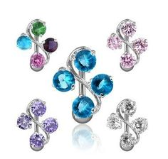 theses are the coolest belly button rings ever