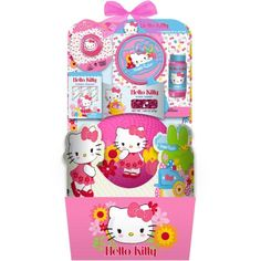 Gift basket drop shipping little cottontails pink easter activity deluxe hello kitty activitysport easter basket 7 pc walmart negle Image collections