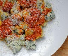 Koek's spinach gnudi with tomato-butter sauce http://www.eatout.co.za/recipe/koeks-spinach-gnudi-with-tomato-butter-sauce/