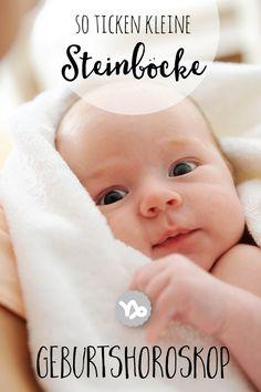 Willkommen, kleiner Steinbock! Ob dein Baby wirklich kleine Hörnchen hat?