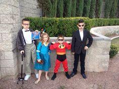 Disney Day Carl, Merida, Dash, Jack the Pumpkin King
