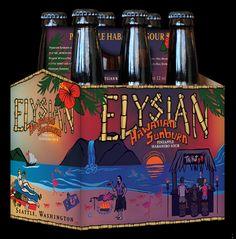 mybeerbuzz.com - Bringing Good Beers & Good People Together...: Elysian Brewing - Hawaiian Sunburn Coming 1/15