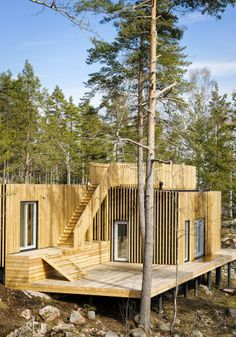 Timarö Vacation House / Sandell Sandberg