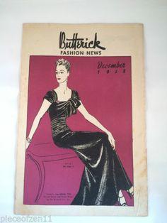 Butterick 8156   1938 Evening Dress