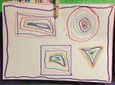 Uno de los objetivos que me planteé este mes mis alumnos fue conseguir que nombraran las cuatro formas geométricas básicas: círculo, cua...